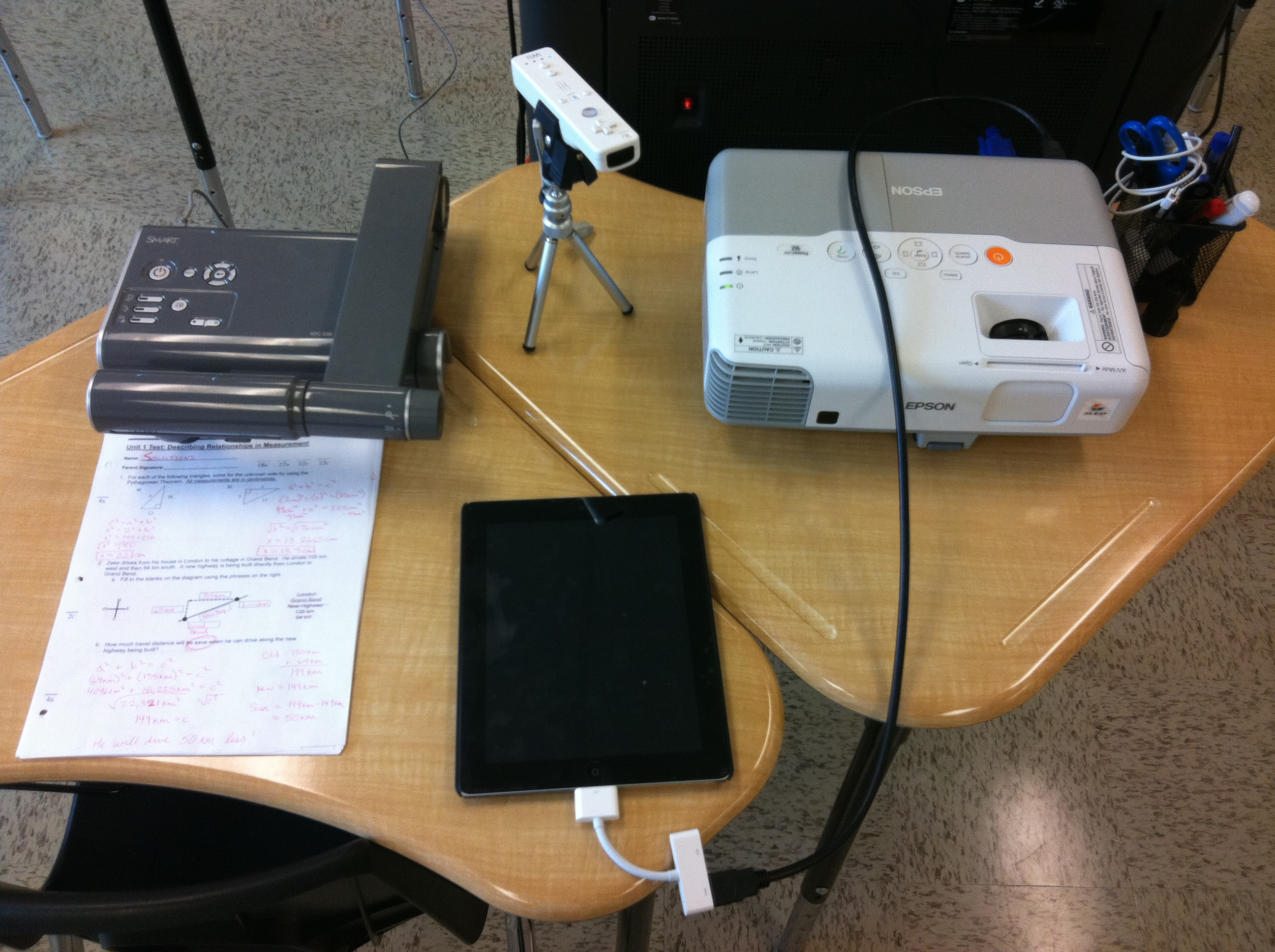 Using your ipad as a document camera replacement spark for Ipad pro projector