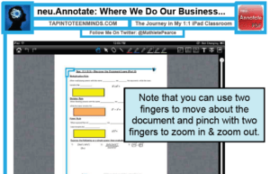 neu.Annotate+ Digital PDF Annotation App for iPad iOS iPhone | Educational Technology