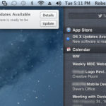 Apple Mac OS X Mountain Lion Upgrade Notification Centre