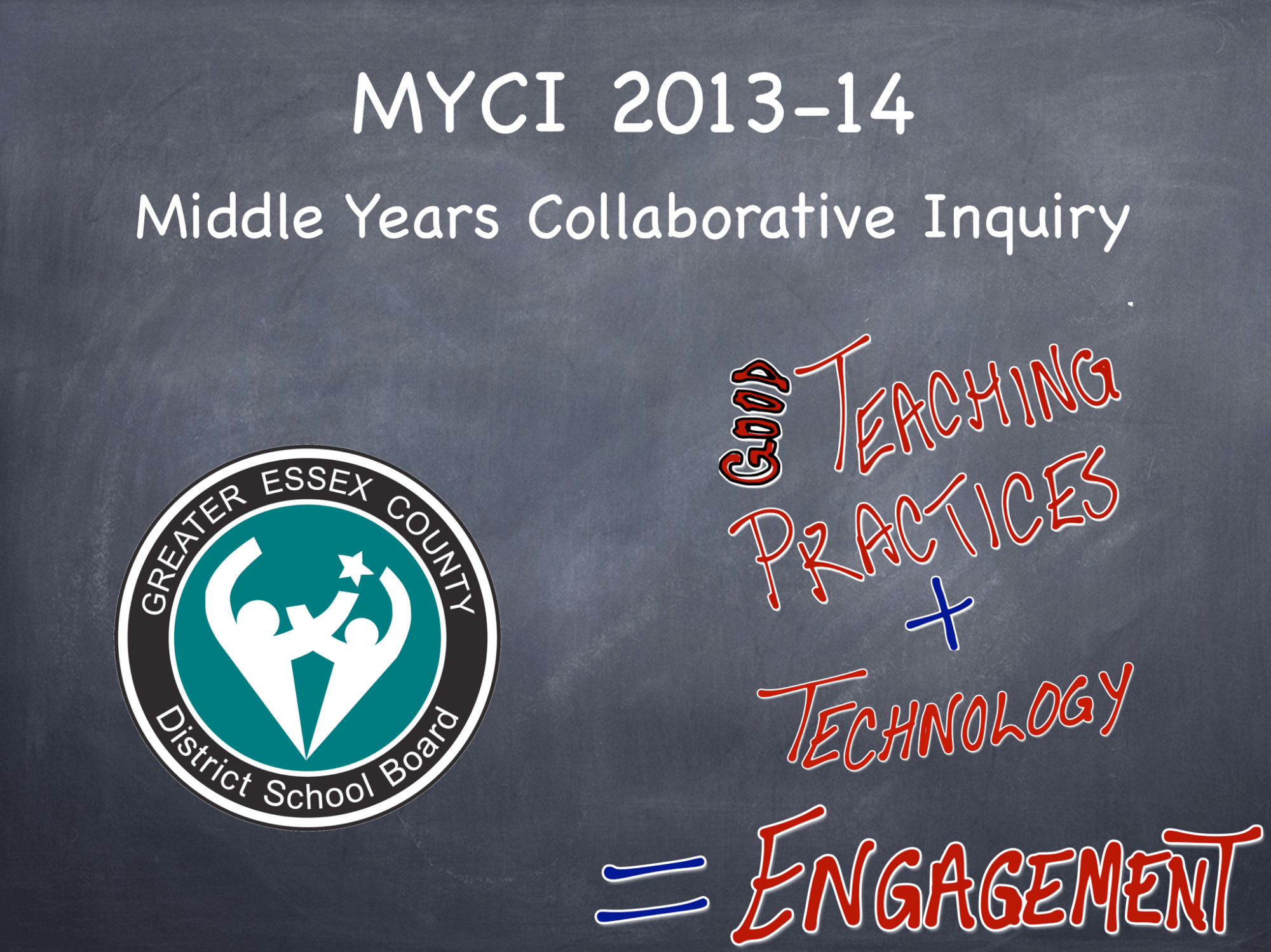 2013-14 Middle Years Collaborative Inquiry – Session #1