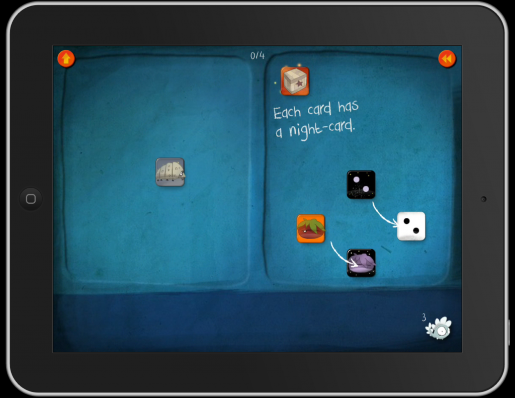 DragonBox+ Best Math App | Day & Night Cards for Positive Negative Terms