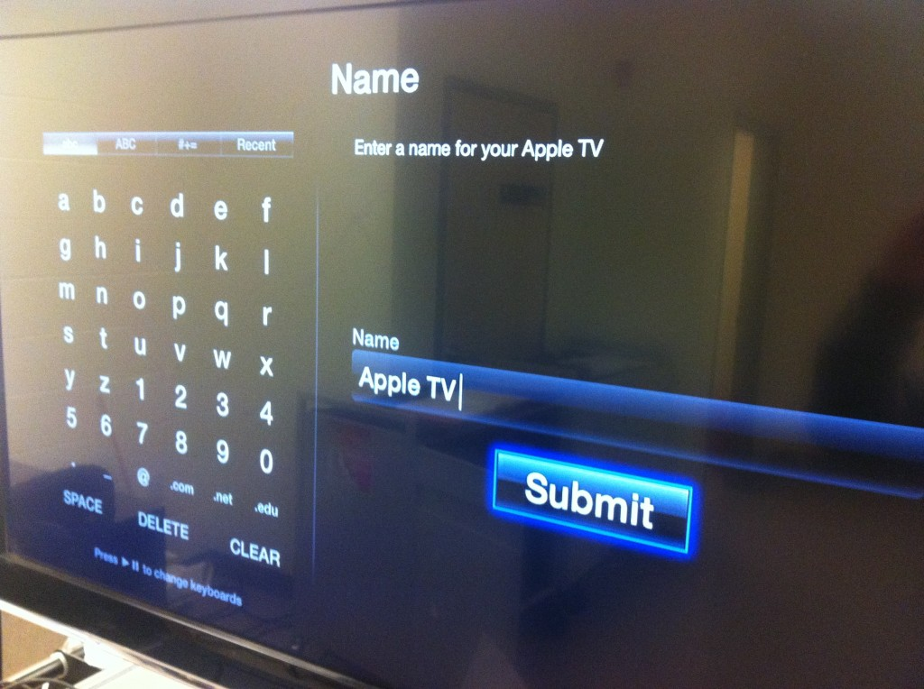 Configure Apple TV to Display iPad Screen