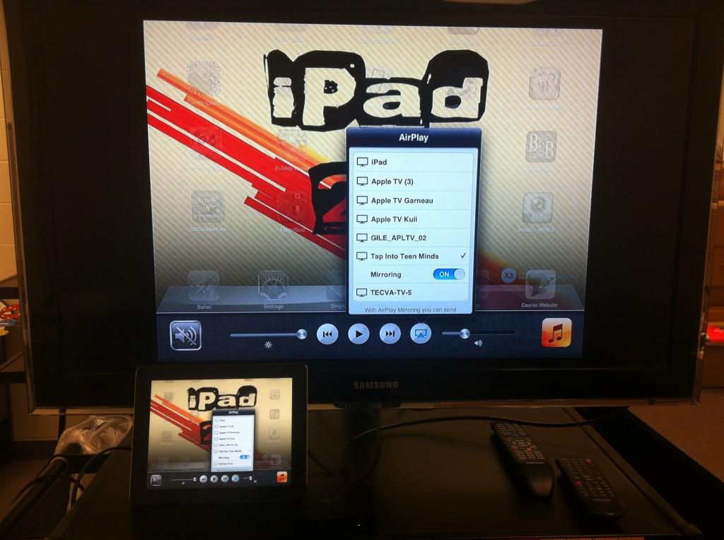 Configure Apple TV to Display iPad Screen