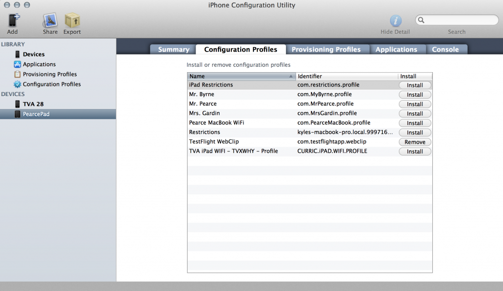 How to Setup iPad With iPhone Configuration Utility