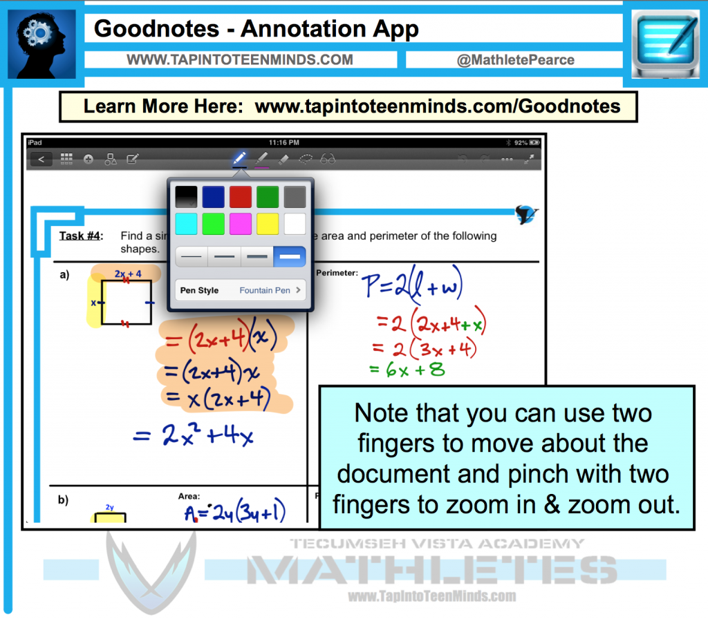 Goodnotes Annotation App Review