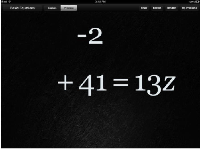 Apple Professional Development Algebra Touch Math App Review