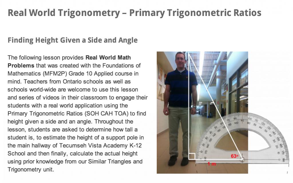 Real World Math | Real World Trigonometry