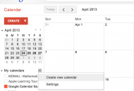 How Teachers Can Use Google Calendar as a Class Website - Create a New Calendar