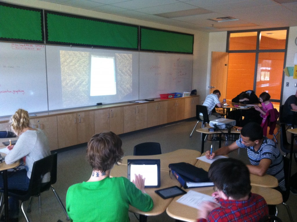 Real World Solving Linear Systems of Equations - Student iMovie Videos