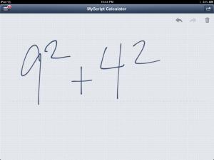 MyScript Calculator - Write On Your Calculator