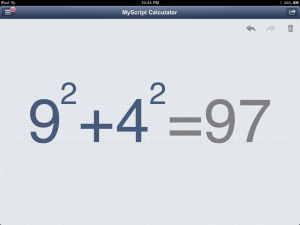 MyScript Calculator - Write On Your Calculator - Even Difficult Calculations