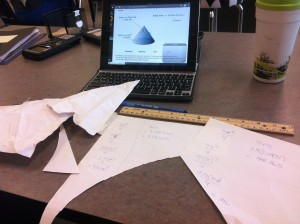 Investigating the Surface Area of a Cone Formula