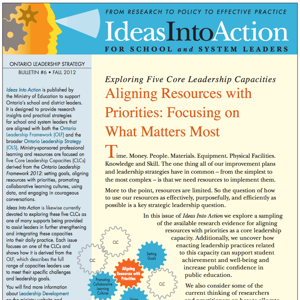 Aligning Resources With Priorities - Determining What Matters Most?