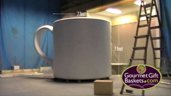 Dimensions of the Worlds Largest Cup of Coffee