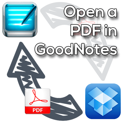 PDF Open In GoodNotes from Dropbox