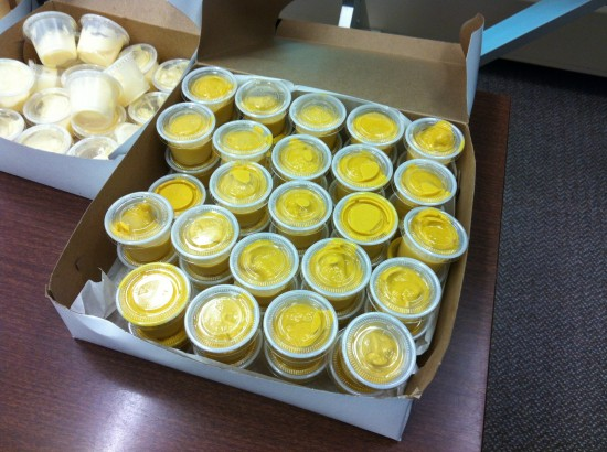 Mustard Mayhem Real World Math - Full Tray of Mustard