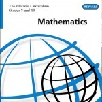 Ontario Curriculum for Math Grade 9, 10