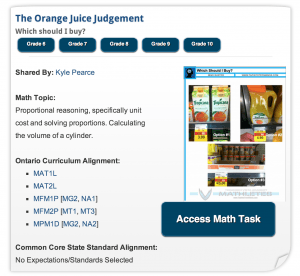 The Orange Juice Judgement | Real World Math Task
