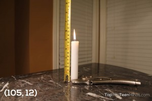 Candle Burning 3 Act Math Task