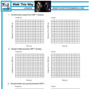5.1 – Walk This Way | Math Task Template
