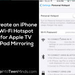 how to set up mirroring on apple tv