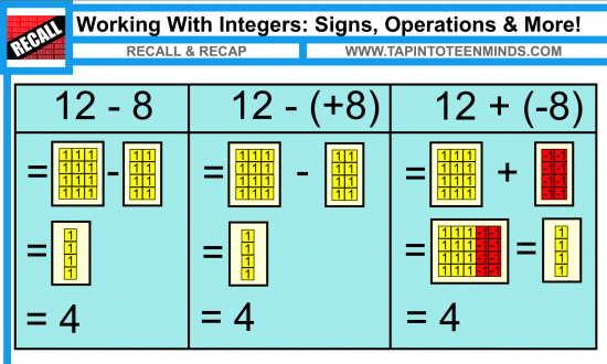 Help or Hurt? Algebra Tiles for Deeper Understanding and Retention ...