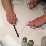 Snipping Straws | MYCI Team Measuring With Straw