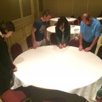 Snipping Straws | MYCI Team Trying to Find Centre of Table