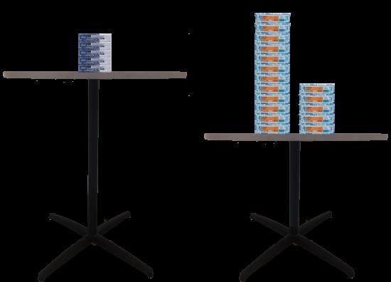 Thick Stacks 3 Act Math Task - 12 Stacks and 5 Stacks on Table