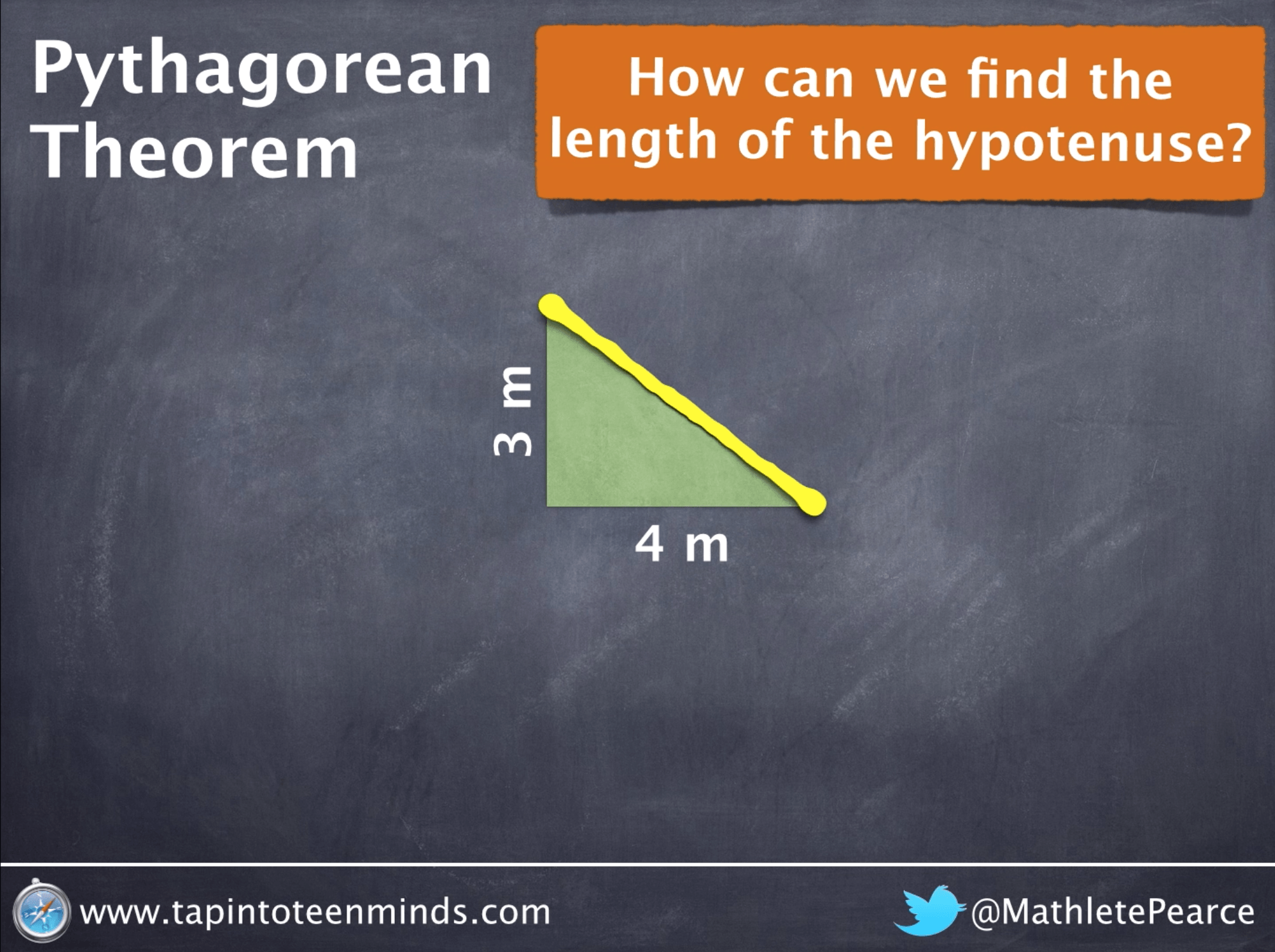 Pythagorean Theorem Visual Representation Through Inquiry