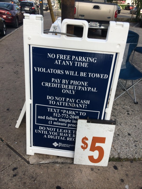Public Parking Pay By Phone Sign