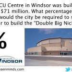 Big Nickel - What Percentage of WFCU Cost Would Big Nickel Cost Be?