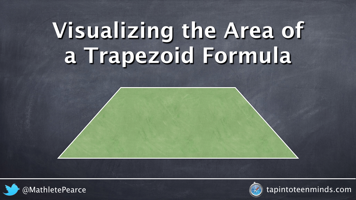 Visualizing the Area of a Trapezoid Formula