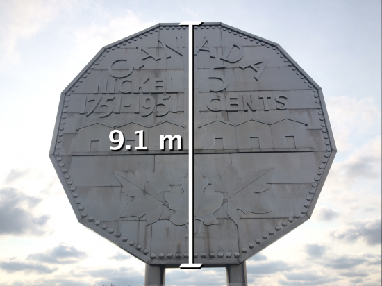 Big Nickel - Act 2 - Diameter of Big Nickel