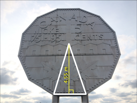 Big Nickel - Act 2 - Height of Triangle for Trigonometry