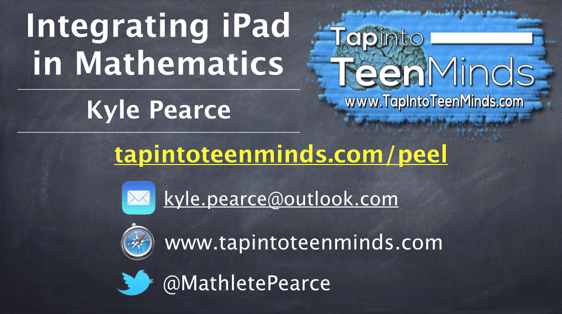 Integrating iPads in Math – Peel District School Board