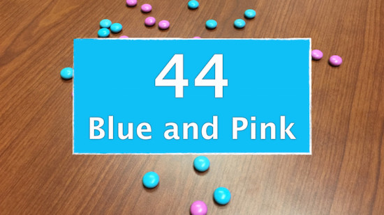 Counting Candies Sequel - Number of Blue And Pink Candies