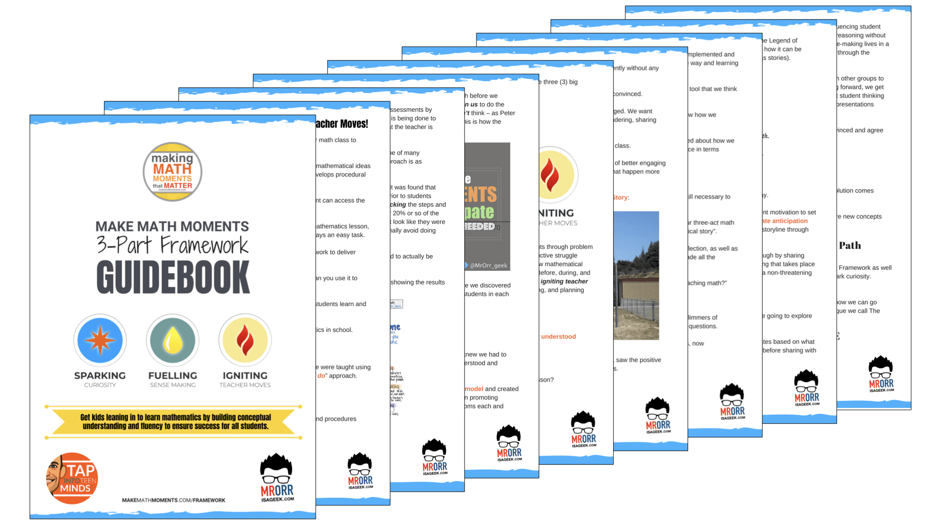 Make Math Moments 3-Part Framework Guidebook