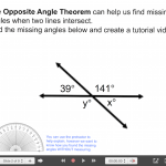 Explain Everything Angle & Triangle Journey (Part 2) - 2 Opposite Angle Theorem