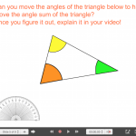 Explain Everything Angle & Triangle Journey (Part 2) - 5 Angle Sum of a Triangle Exploratory