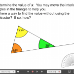 Explain Everything Angle & Triangle Journey (Part 2) - 7 Exterior Angle of a Triangle Inquiry