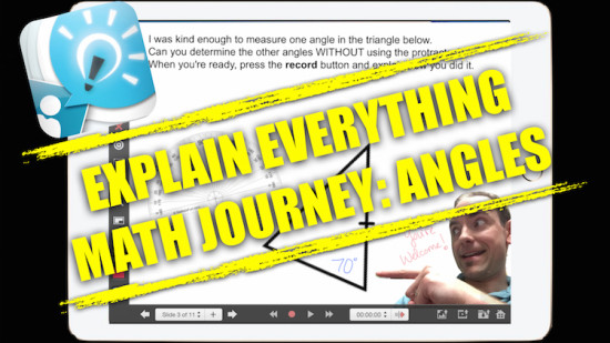Explain Everything Math Learning Journey - Exploring Geometry and Angles