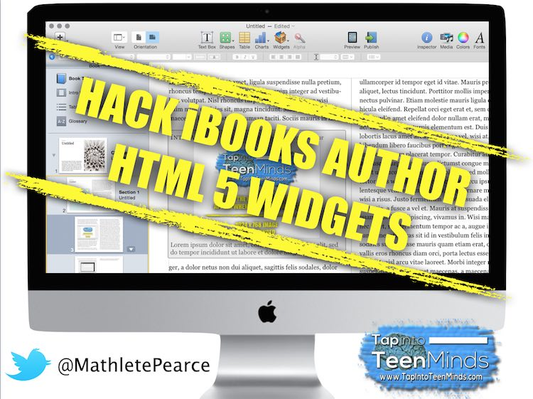 How to Hack an HTML 5 iBooks Author Widget