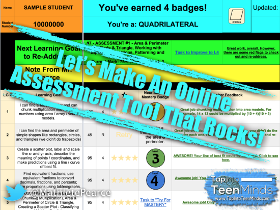 Let's Make an Online Assessment Tool That Rocks!