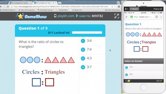 Knowledgehook Gameshow Beautiful User Interface and Experience
