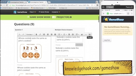 Knowledgehook Gameshow Custom Question Creation Shell