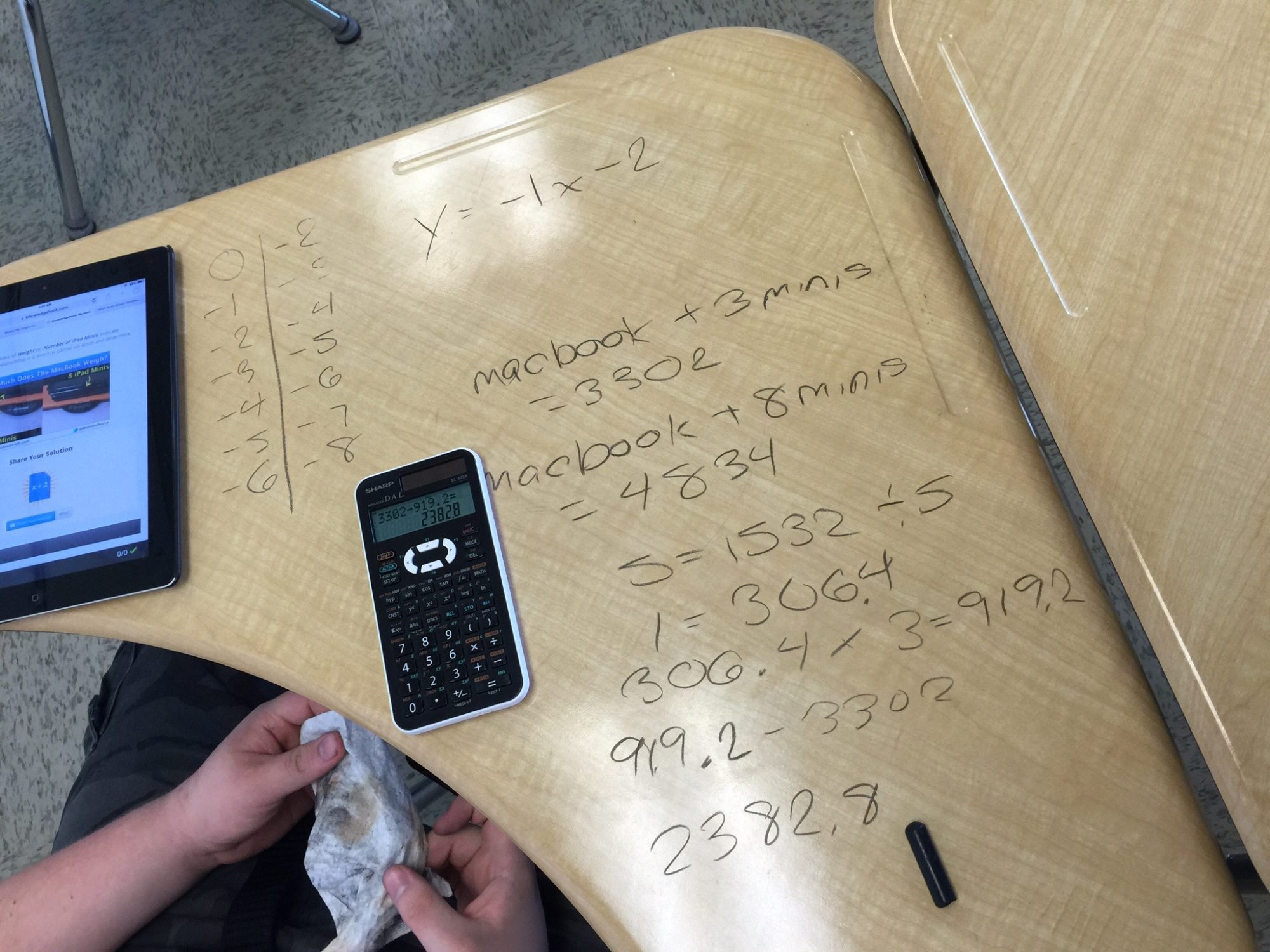 Tech Weigh In | 3 Act Math Task | Direct and Partial Variation
