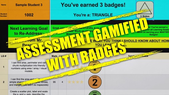 ADE 2015 Institute Showcase 1-in-3 - Gamifying Assessment in Mathematics