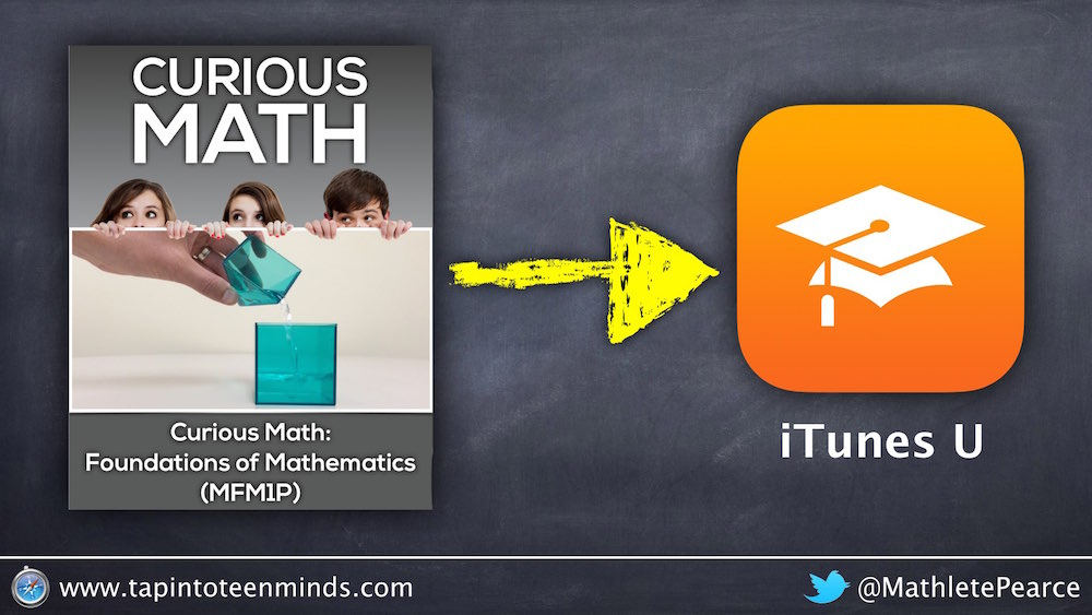 Curious Math: Foundations of Math is LIVE on @iTunesU