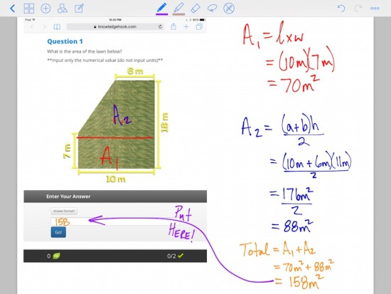 Curious Math iTunes U Course - 14 Complete Knowledgehook Gameshow on iPad or on Paper